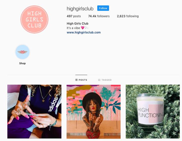high girls club