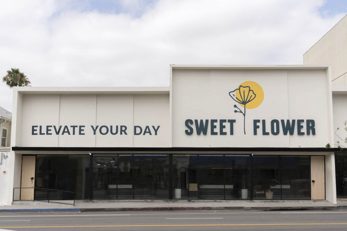 Sweet Flower cannabis dispensary Los Angeles